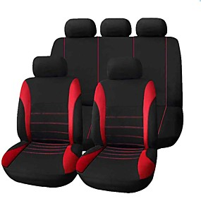 economico Coprisedili per auto-Coprisedili per auto Coprisedili Grigio / Rosso / Blu Tessuto Lavoro / Normale Per Universali Tutti gli anni Tutti i modelli