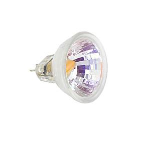 رخيصةأون مصابيح ليد ثنائية-1PC 2 W أضواء LED Bi Pin 230-250 lm MR11 1 الخرز LED COB أبيض دافئ