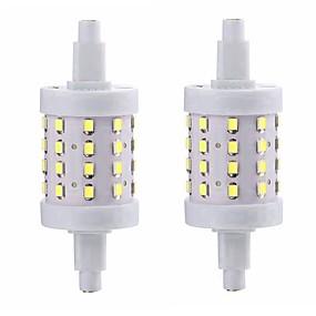 billige LED-lysstofrør-SENCART 1pc 5 W Lysrør 800 lm R7S 36 LED Perler SMD 2835 Dekorativ Varm hvid Kold hvid 85-265 V