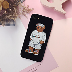 billige Cool & Fashion Cases til iPhone-Etui Til Apple iPhone XR / iPhone XS Max Mønster Bagcover Tegneserie Blødt TPU for iPhone XS / iPhone XR / iPhone XS Max