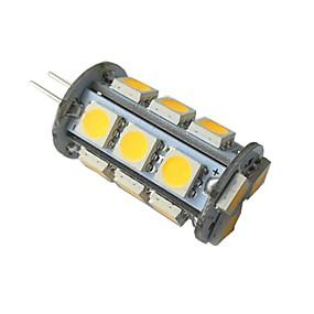 저렴한 LED Bi-pin 조명-1 개 3 W LED Bi-pin 조명 260 lm G4 18 LED 비즈 SMD 5050