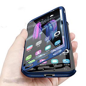 voordelige Galaxy A8 Hoesjes / covers-hoesje Voor Samsung Galaxy A8 2018 / A8 / A7 Schokbestendig Volledig hoesje Effen Hard PC