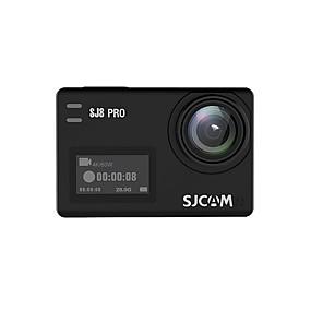 voordelige Auto DVR's-SJCAM SJCAM SJ8PRO 2160p Mini Auto DVR 170 graden Wijde hoek SONY IMX337 2.33 inch(es) TFT LCD-monitor / Capacitief scherm / IPS Dash Cam met WIFI / Continu-opname / Ingebouwde Microfoon Neen