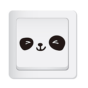 cheap Decoration Stickers-Light Switch Stickers - Animal Wall Stickers Animals Living Room / Bedroom / Kitchen