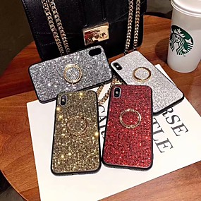 cheap iPhone X Cases-Case For Apple iPhone XS Max / iPhone 6 Rhinestone Back