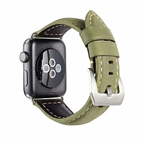 cheap Daily Deals-Watch Band for Apple Watch Series 4/3/2/1 Apple Classic Buckle Genuine Leather Wrist Strap