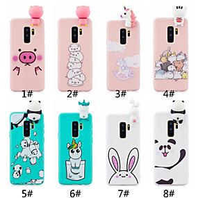 voordelige Galaxy S7 Hoesjes / covers-hoesje Voor Samsung Galaxy S9 / S9 Plus / S8 Plus Mat / DHZ Achterkant Cartoon Zacht TPU