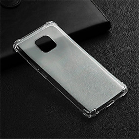 voordelige Huawei Honor hoesjes / covers-hoesje Voor Huawei Huawei Honor 10 / Honor 9 / Huawei Honor 9 Lite Schokbestendig / Transparant Achterkant Transparant Zacht TPU