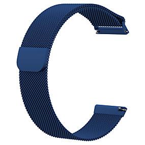 저렴한 Fitbit 밴드 시계-시계 밴드 용 Fitbit Versa / Fitbit Versa Lite 핏빗 밀라노 루프 메탈 손목 스트랩