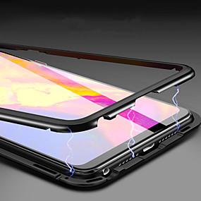 billige Shop ifølge telefonmodel-Etui Til Huawei Huawei Mate 20 Pro / Huawei Mate 20 Magnetisk Fuldt etui Ensfarvet Hårdt Tempereret glas for Huawei Mate 20 lite / Huawei Mate 20 pro / Huawei Mate 20