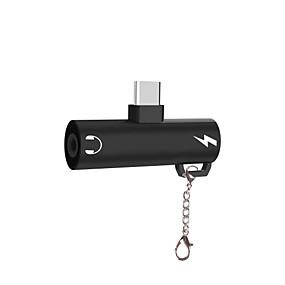 olcso Google-C típusú Adaptor <1m / 3ft Minden egyben / 41641.0 Alumínium USB kábeladapter Kompatibilitás Samsung / Huawei / LG