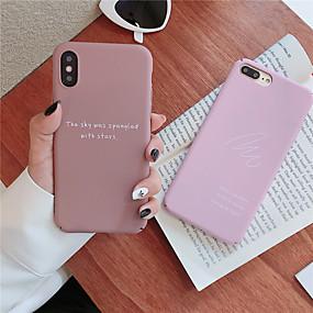 billige Apple-tilbehør-tilfældet til Apple iPhone xr / iphone xs maks mønster bagcover cover ord / sætning hårdt tpu til iphone x xs 8 8plus 7 7plus 6 6plus 6s 6s plus