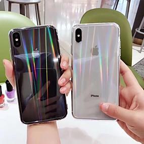 levne iPhone pouzdra-Carcasă Pro Apple iPhone XS Max / iPhone 6 Průhledné Zadní kryt Průhledný Pevné Akrylát pro iPhone XR / iPhone XS Max / iPhone X