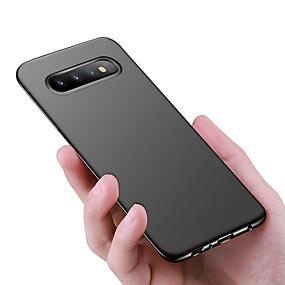 voordelige Galaxy S7 Hoesjes / covers-hoesje Voor Samsung Galaxy S9 / S9 Plus / S8 Plus Schokbestendig / Ultradun / Mat Achterkant Effen Hard PC