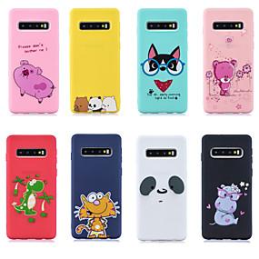 voordelige Galaxy S7 Edge Hoesjes / covers-hoesje Voor Samsung Galaxy S9 / S9 Plus / S8 Plus Patroon Achterkant dier / Cartoon Zacht TPU