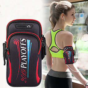 tanie Etui do iPhone-torba na ramię torba unisex torba sportowa do biegania ramię do ćwiczeń z torbą na telefon torba na telefon komórkowy 6.4 cal