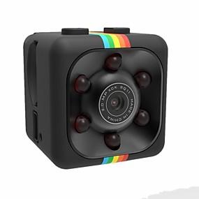 povoljno Zaštita i sigurnost-1080p mini kamera sq11 hd videokamera noćno gledanje sportski dv video rekorder detekcija pokreta puni hd 2.0mp infracrveni noćni vid sportovi dv video diktafoni dv kamera