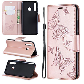 cheap Galaxy S Series Cases / Covers-Samsung mobile phone case anti-drop with card slot clip type embossed butterfly pattern for Samsung S10/S10 PLUS/S10E/S9/S9PLUS/All-inclusive mobile phone case