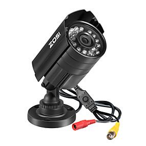 abordables Sécurité & Sûreté-zosi surveillance caméra hd 4 en 1 720p 1mp extérieur ir-cut 65ft vision de nuit cctv bullet caméra de sécurité