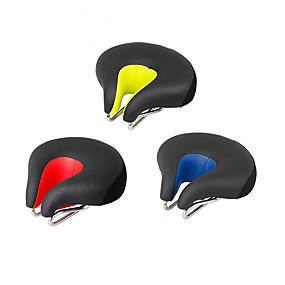 economico Accessori per Ciclismo e bicicletta-Selle di bicicletta / Selle di bicicletta Extra largo Comfort Cuscino Design cavo pelle sintetica Gel di silice Ciclismo Bici da strada Mountain bike Rosso Verde Blu