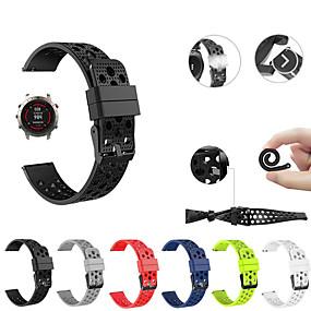זול צפו להקות עבור Garmin-צפו בנד ל גישה S40 / Fenix Chronos Garmin רצועת ספורט סיליקוןריצה רצועת יד לספורט