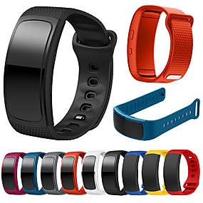 ieftine Accesorii Telefon Mobil-Uita-Band pentru Gear Fit Pro / Gear Fit 2 Samsung Galaxy Banderola Sport Silicon Curea de Încheietură