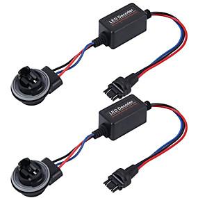 economico Kit di conversione HID-2pcs 3157 auto led decodificatore errore errore cancellatore auto canbus errore-adattatore gratuito