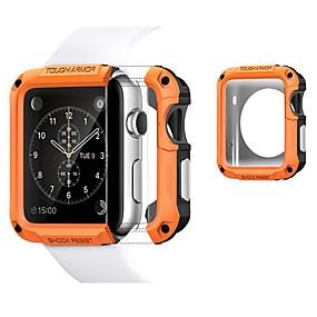 ieftine Accesorii Smartwatch-cazuri pentru ceas de mere serie 4/3/2/1 plastic / tpu compatibil Apple