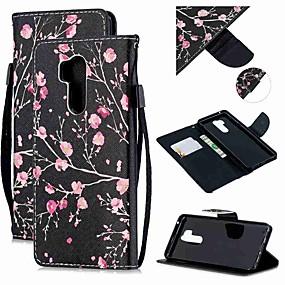 povoljno LG-Θήκη Za LG LG Q Stylus / LG StyLo 3 / LG Stylo 4 Novčanik / Utor za kartice / Otporno na trešnju Korice Cvijet PU koža