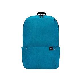 """billige Tilbehør til bærbare computere-Xiaomi Millet Backpack 13 """"bærbar computer Rygsække Nylonfiber Ensfarvet / Helfarve Unisex"""