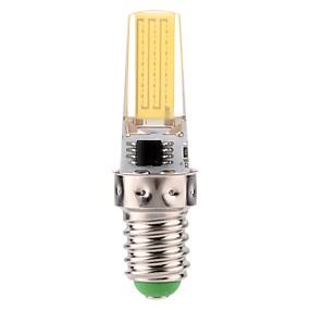 ieftine Becuri LED Corn-1 buc 3 W Becuri LED Corn 170-200 lm E14 1 LED-uri de margele COB Intensitate Luminoasă Reglabilă Decorativ Alb Cald Alb Rece 220-240 V 110-130 V