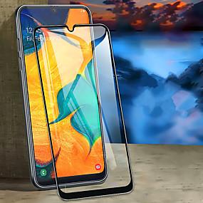 abordables Accessoires Samsung-protecteur d'écran pour samsung galaxy a10 / a20 / a30 / a40 / a50 / a70 / verre trempé complet 1 pc protecteur d'écran haute définition (HD) / dureté 9h