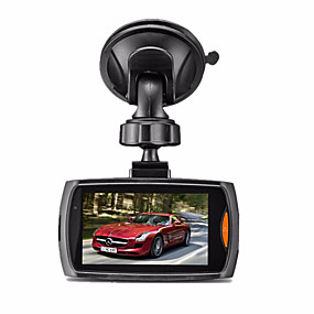 voordelige Auto DVR's-G30 720p Start automatische opname Auto DVR 170 graden Wijde hoek CMOS 2.7 inch(es) LCD Dash Cam met Nacht Zicht / G-Sensor / Automatische uitschakeling 6 infrarood LED's Autorecorder