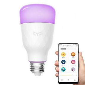 levne LED Smart žárovky-xiaomi yeelight 1pc 10 w led chytré žárovky 800 lm e26 / e27 led korálky rozkošný cool smart 220-240 v