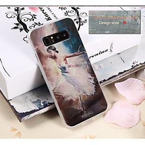 voordelige Galaxy S7 Edge Hoesjes / covers-hoesje Voor Samsung Galaxy S8 Plus / S8 / S7 edge Waterbestendig / Stofbestendig / Patroon Achterkant Sexy dame TPU