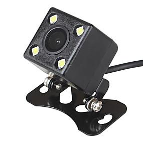 voordelige Auto-elektronica-ziqiao pla systeem 4 led auto nachtzicht reverse monitoring automatisch parkeren waterdicht 170 graden hd video backup camera