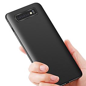 voordelige Galaxy S7 Edge Hoesjes / covers-hoesje Voor Samsung Galaxy S9 / S9 Plus / S8 Plus Ultradun Achterkant Effen TPU