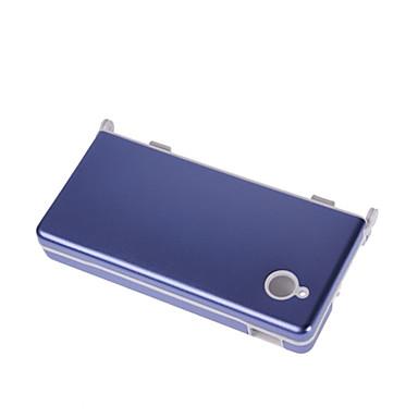 ochronne plastikowe etui z pokrywą aluminiową do Nintendo DSi (kolor niebieski)