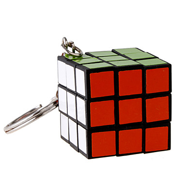 Magic Cube Toys Key Chain Cute Mini Plastic Pieces Boys' Girls' Gift