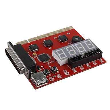 Motherboard PCI 4-Dígitos Reparação/Resolução de Problemas/Cartão Diagnóstico com LEDs de Estado