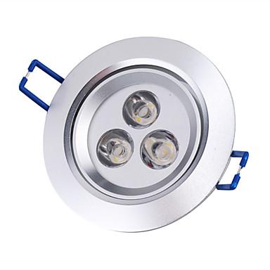 3000lm Tavan Işıkları Gömme Işıklar Gömme Uyumlu 3 LED Boncuklar Yüksek Güçlü LED Sıcak Beyaz 85-265V