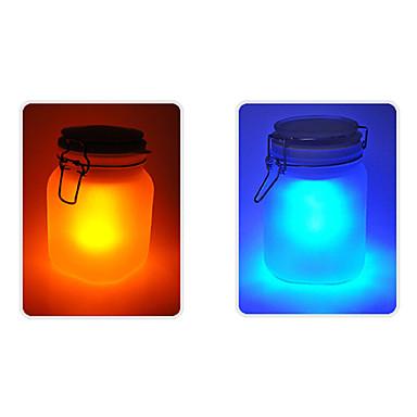 en forme de pot Lampe à énergie solaire