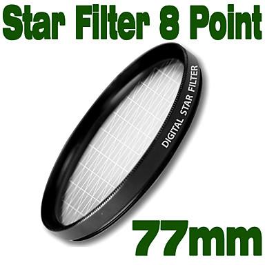 Emolux 77mm Star 8 Point Filter