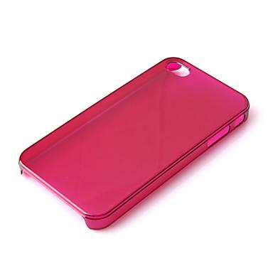 iPhone4用 TPU クリアiPhoneケース 色ランダム発送