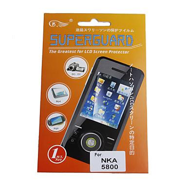 Protector de pantalla para nokia5800