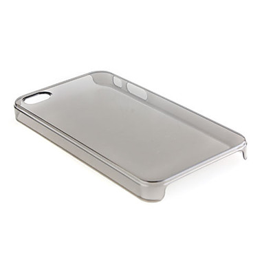 Thin Soft Back Cover for iphone4 Translucent Black