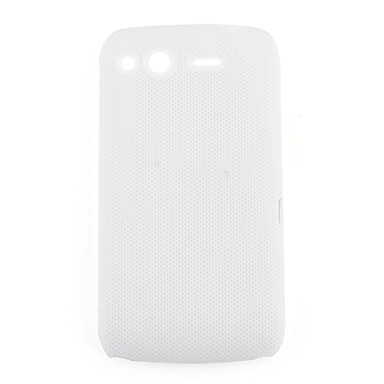 Net sharp protective cell phone case for HTC Desire S(white)