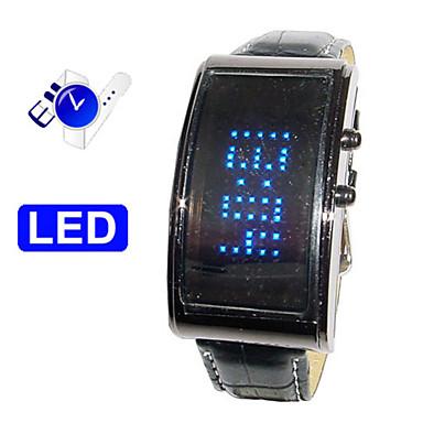 design futuro - assistir LED azul com palavras diy própria rolando tela