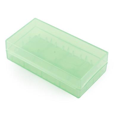 18650 plastica custodia box porta (verde)