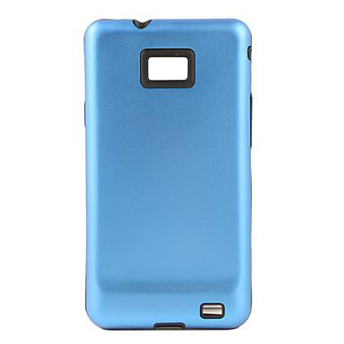 защитный алюминиевый корпус для Samsung Galaxy S i9100 ⅱ - синий